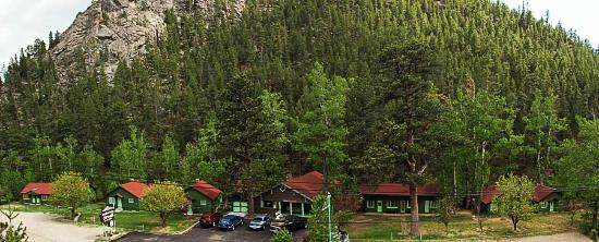 Loveland Heights Cottages: Panorama of Cabins