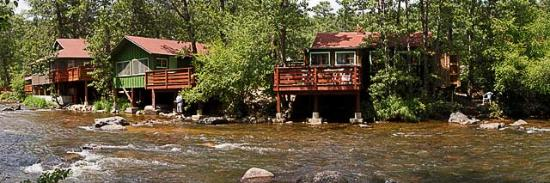 Loveland Heights Cottages: View from the River