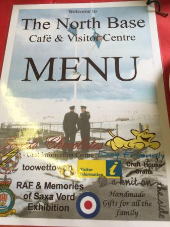 Unst, UK: Great menu, great service and great day