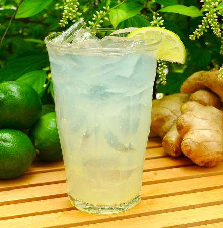 Teaism Restaurant: Fresh Squeezed Ginger Limeade
