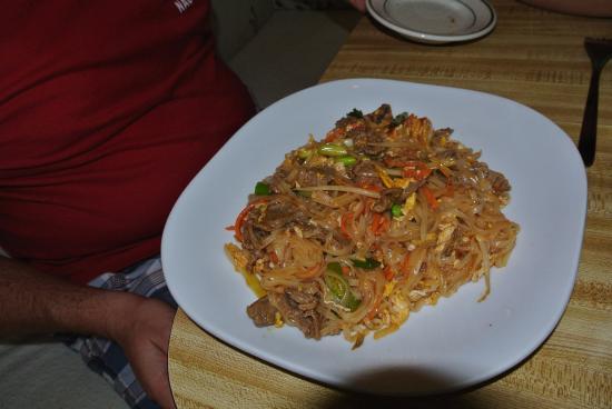 Royal Palm Beach, FL: My son's dish, very tasty, good portion