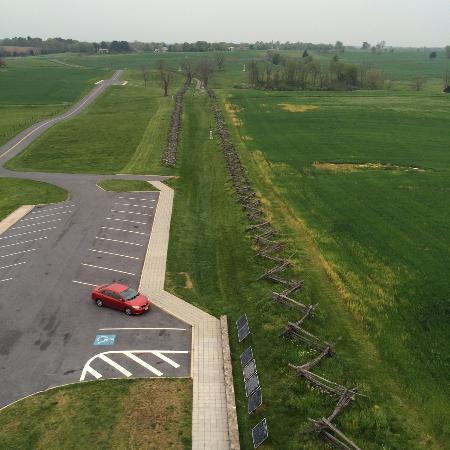 Sharpsburg, Μέριλαντ: Bloody Lane from Observation Tower