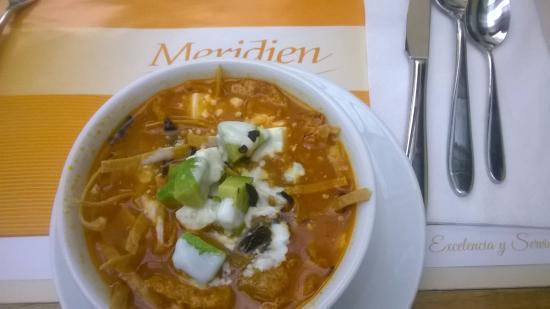 Meridien - Museo: Sopa de tortilla