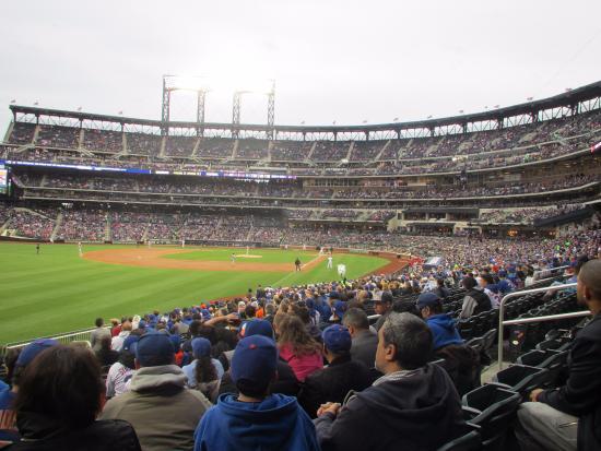 Flushing, NY: Citi Field - Mets vs. Nationals (Left Field View 4)