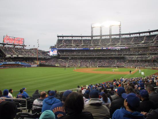 Flushing, NY: Citi Field - Mets vs. Nationals (Left Field View 5)