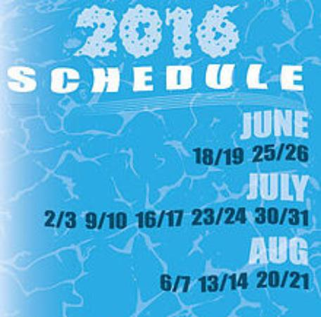 Rumsey, Kaliforniya: Summer 2016 River Rafting Schedule Logo for WHITEWATER ADVENTURES Sacramento, California River R