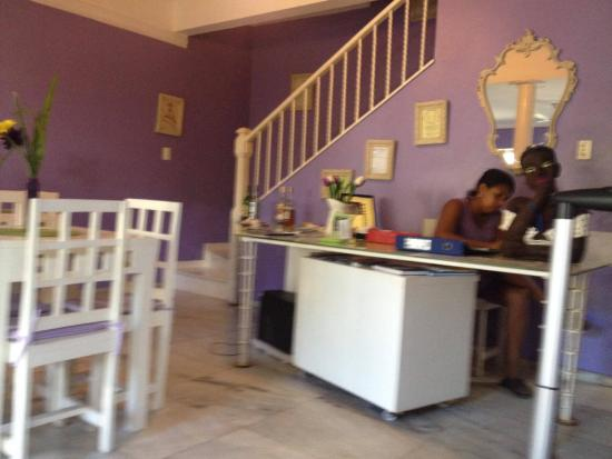 Hotel Pousada Papaya Verde : Recepção
