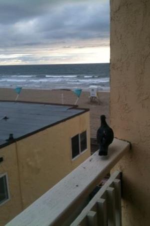 Blue Sea Beach Hotel: Ocean side balcony...