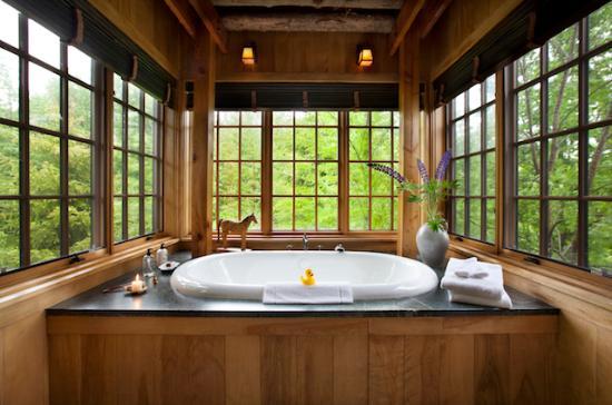 Barnard, Вермонт: Farmhouse Bathtub
