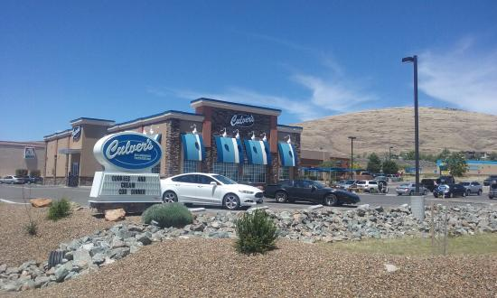 Culver's Prescott Valley with Glassford Hill in the background