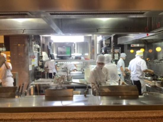 the open kitchen of Din Tai Fung Central World branch - Picture of ...