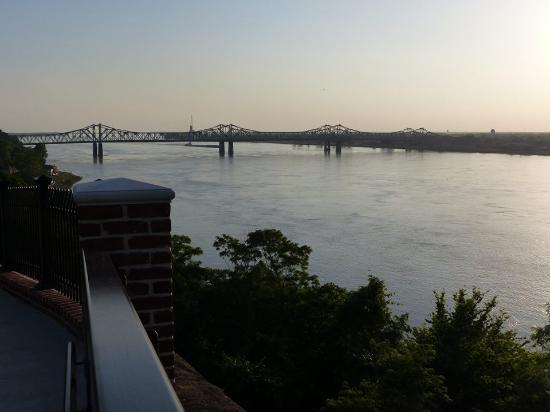 Natchez, Mississippi: Bridge from the Park