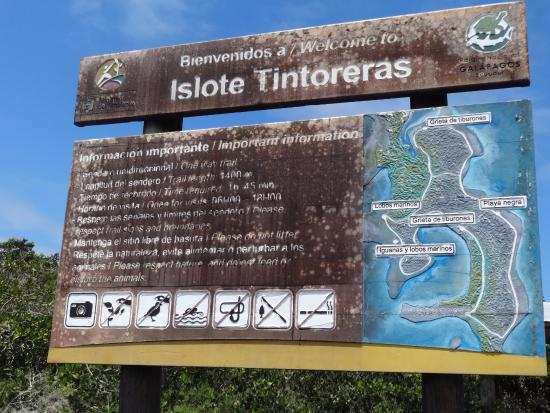 Puerto Villamil, Ecuador: ENTRADA AL ISLOTE