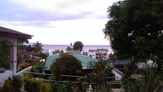 Steps Garden Resort: View from bungalow