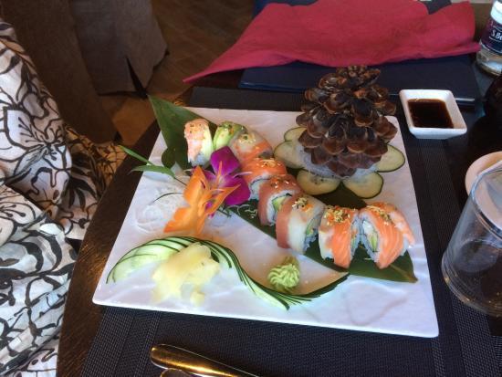 Vado Ligure, İtalya: Due splendidi piatti di Shangri-La