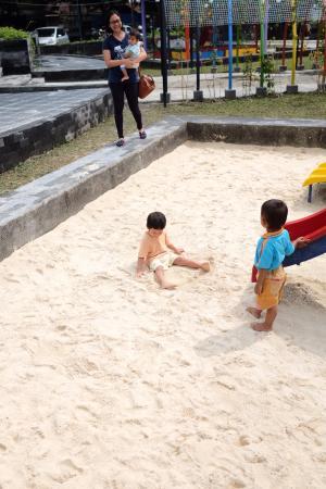 Pandan Alas Park: Kolam pasir di Taman Pandan Alas