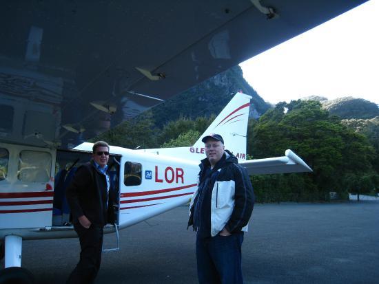 Κουίνσταουν, Νέα Ζηλανδία: With our pilot