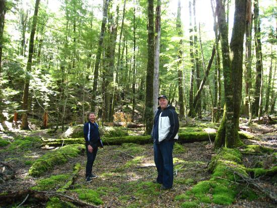 Κουίνσταουν, Νέα Ζηλανδία: With Jason, our tour guide