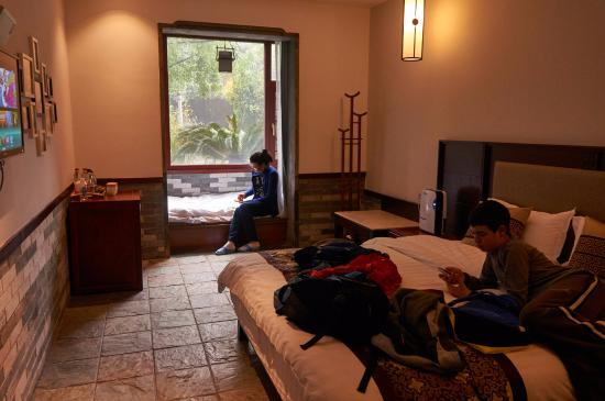 Aroma Tea House: Our room