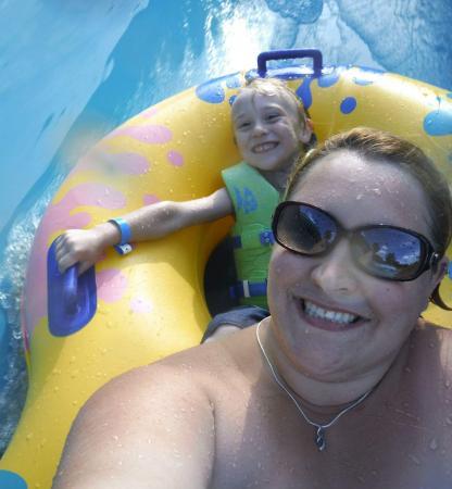 Rock Island, IL: Double Tube slide!