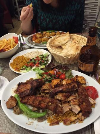 Excellent Medium Mix Grill Picture Of Ada Restaurant Edinburgh Tripadvisor