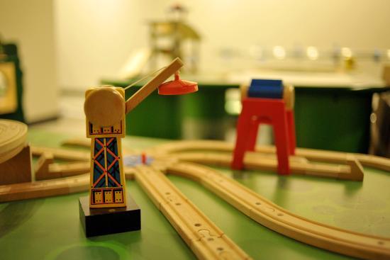 Enid, OK: Train Tables!