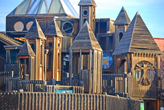 Enid, OK: Come play in a three story castle or sail the huge pirate ship at Adventure Quest!