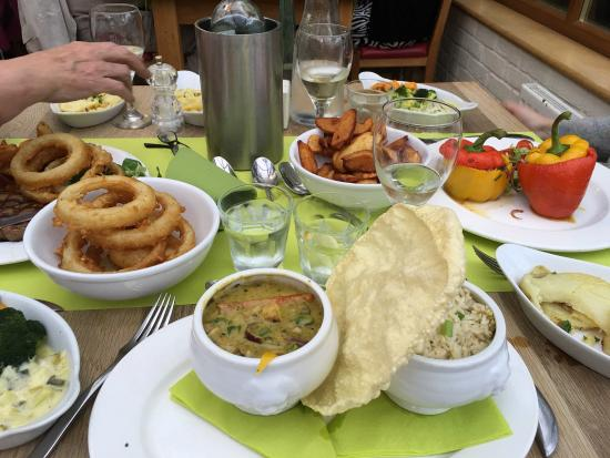 Trevaskis Farm: Huge amount of absolutely delicious food