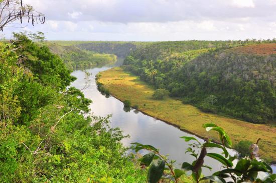 Bayahibe, Dominican Republic: Fiume chavon