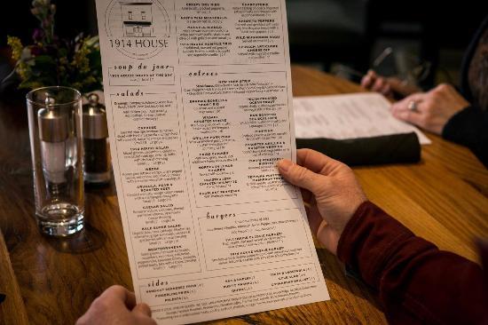 Niwot, CO: menu