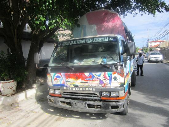 Bayahibe, Dominican Republic: furgoncino escursione