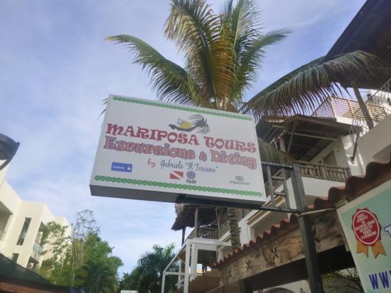 Bayahíbe, República Dominicana: Insegna Mariposa tours