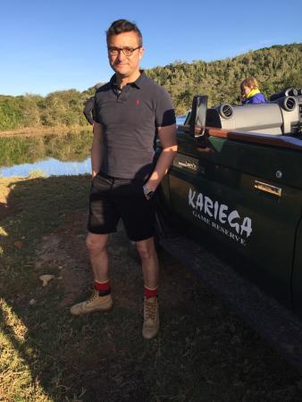 Kenton-on-Sea, Sudáfrica: Kariega Settlers Drift Tented Lodge