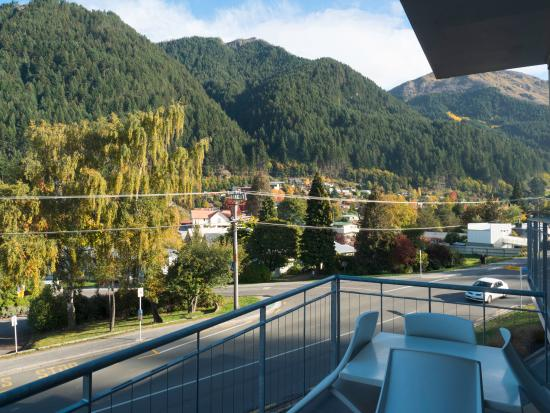 Whistler Holiday Apartments: View from the balcony ...