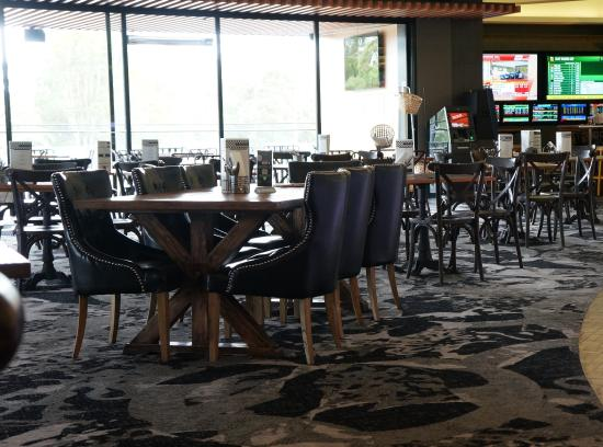 Warwick Farm, Australia: Warwick Leather Dining Chairs