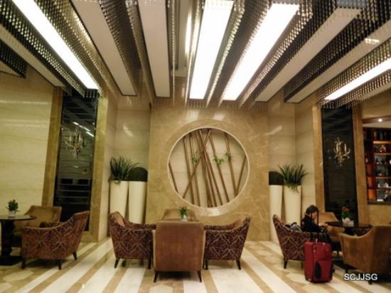 Huahong Hotel,the lobby