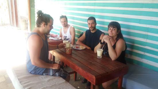 El Transito, Nicaragua: New friends