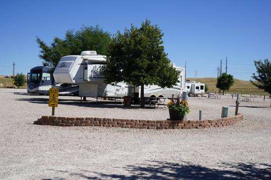 Cheyenne KOA: Long Full Hook Up RV Sites