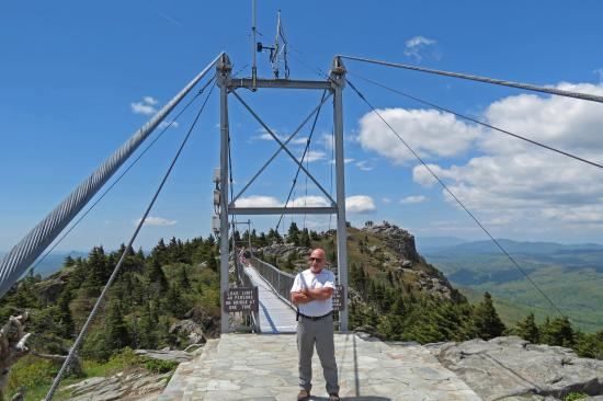 Grandfather Mountain: Swinging at the Top