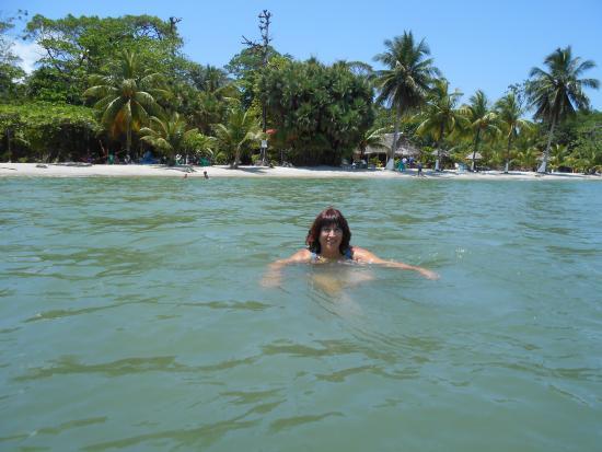Playa Blanca: agua calentita