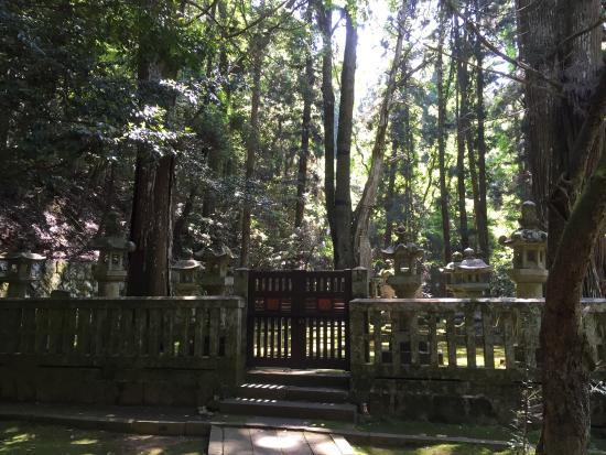 毛利元就の墓