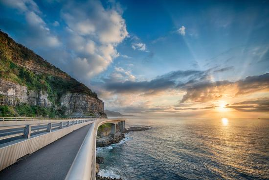 Wollongong, Australien: Sea Cliff Bridge