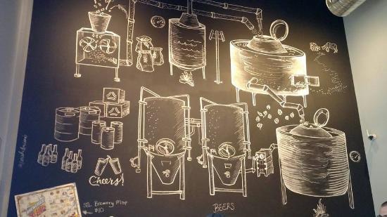 แมรีแลนด์ไฮทส์, มิสซูรี่: cool chalk decor inside