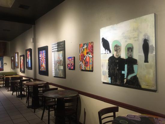 Modesto, Californië: Picassos Gourmet Deli