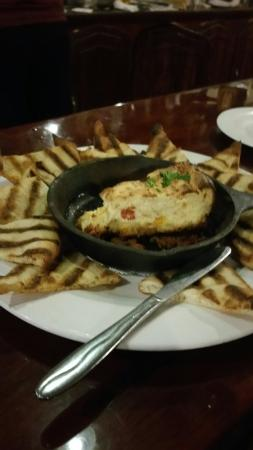 Union Barrel Works: Crab Cheesecake
