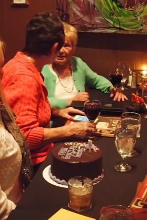 The Club Car Bar & Restaurant: Bring your own birthday cake.