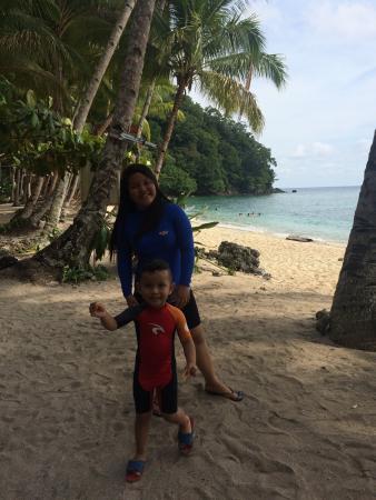 Mindanao, Filipinas: Peace and tranquility beach
