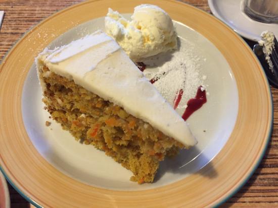 Blackheath, Australien: the carrot cake that finally coes