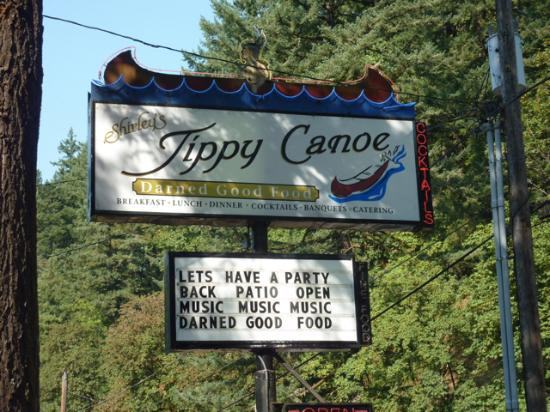 Troutdale, OR: Tippy Canoe