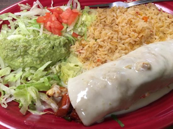 Boiling Springs, Carolina do Norte: Fajita burrito!